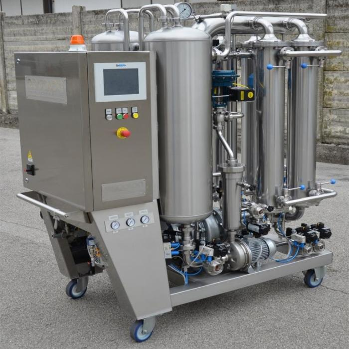 new Cadalpe cross flow filters for the wine, cider and beer industries