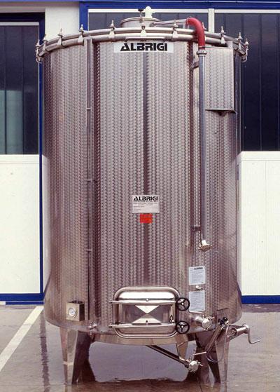 Abeve Albrigi Red Fermenting Variable Capacity Tanks